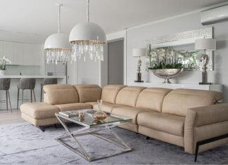 Sposoby na urządzenie domu w stylu nowoczesnego glamour